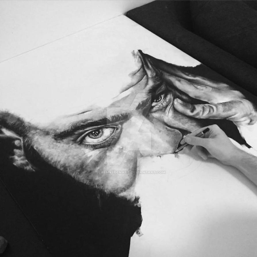 Work in progress by JeremyEdenArt