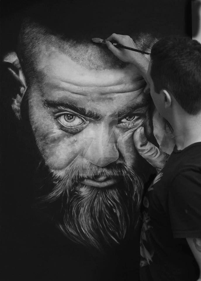 Portrait of Alex by JeremyEdenArt