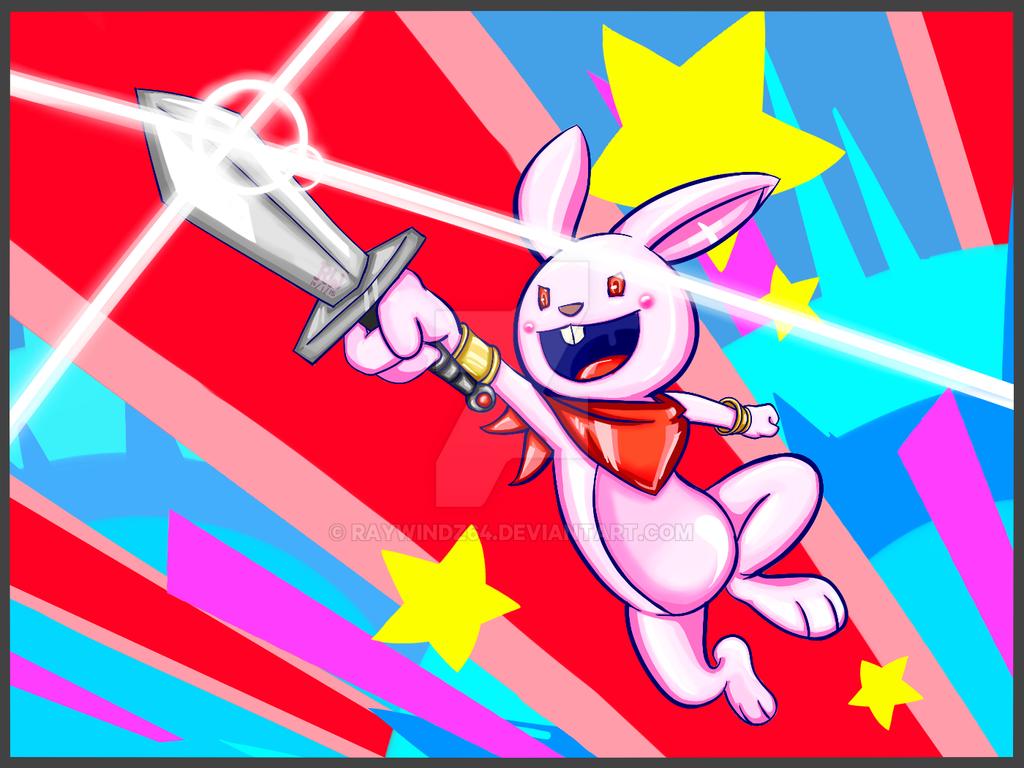 Explosive Charge Bunny by raywindz64