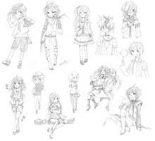 sketch dump+++ by milleto