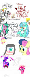 MLP Flockdraw MARCH 15 2012 by MLPflockdraw