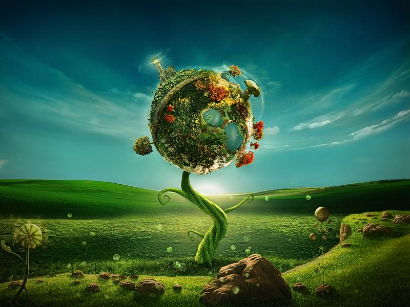 Little planet by ricke76