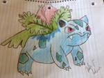 Ivysaur by Grapeglowstickbaby