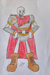 Patrol!Papyrus by OmegaArts13