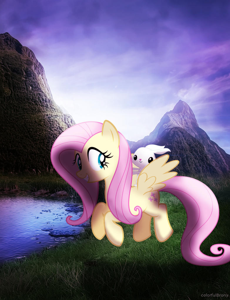 Fluttershy in the Nature [PIRL] by colorfulBrony