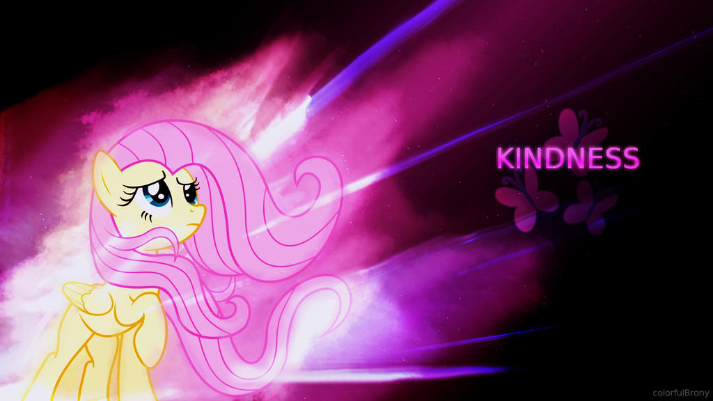 [Contest Entry] The Power of Kindness [Wallpaper] by colorfulBrony
