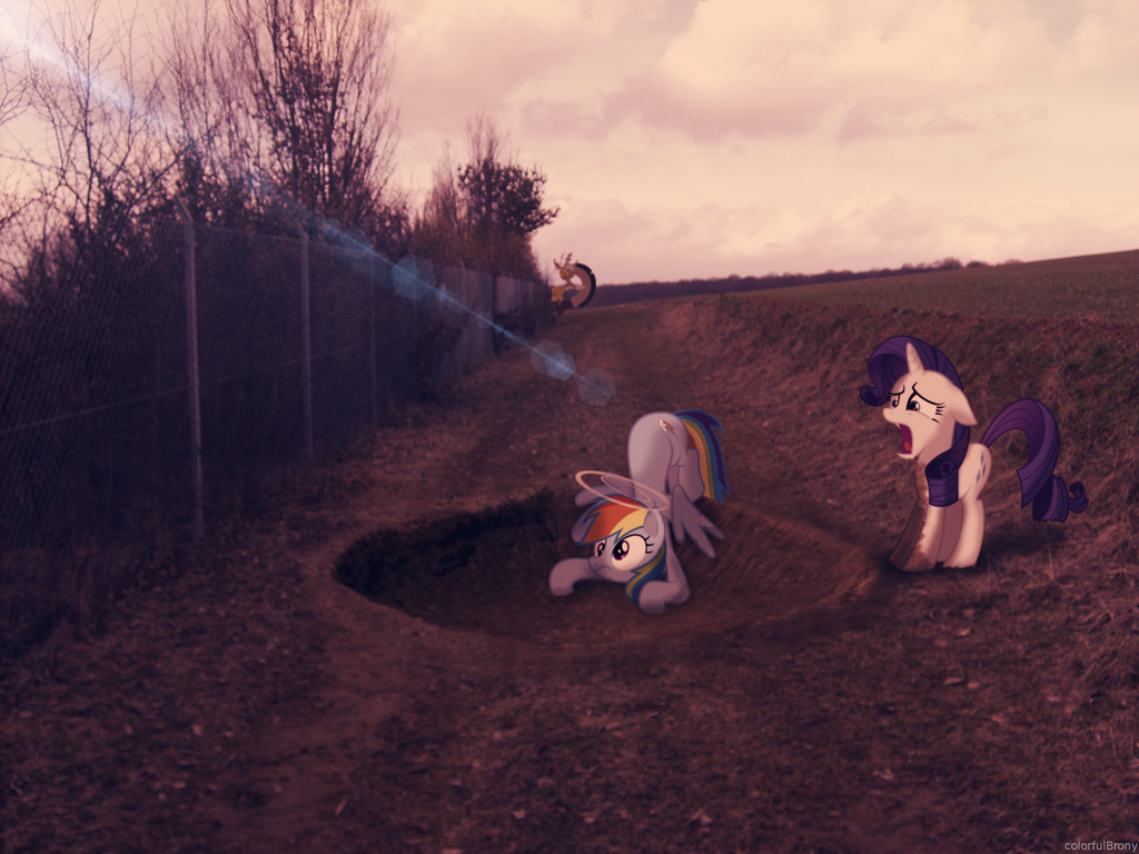 Rainbow Crashed [PIRL] by colorfulBrony
