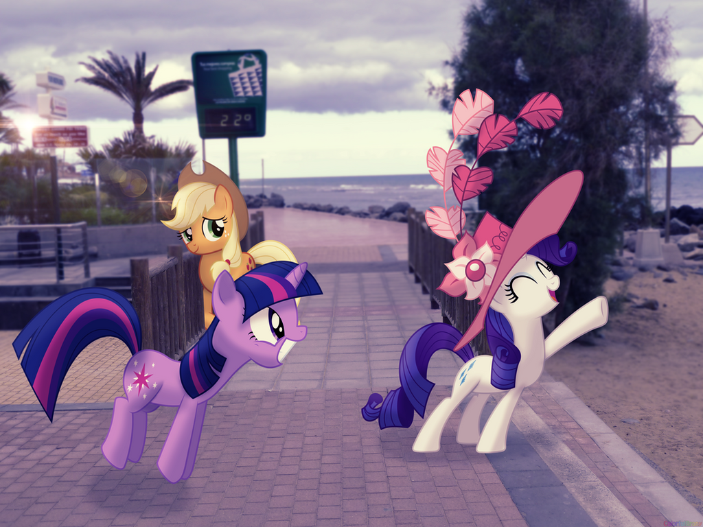 To the beach, everypony! [PIRL] by colorfulBrony
