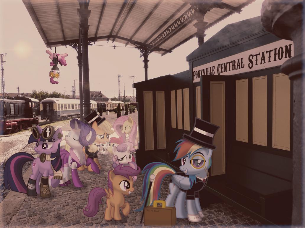 Goodbye Ponyville [PIRL] by colorfulBrony