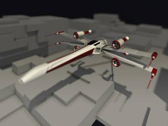 X-wing by koleos33