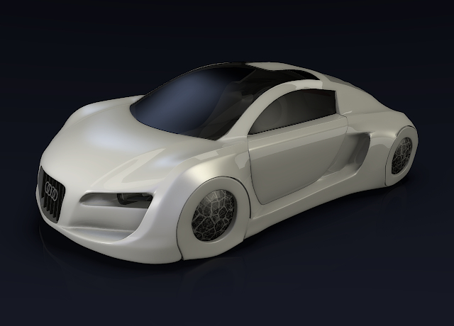 Audi rsq concept car by koleos33