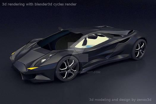 Lamborghini Vikintador concept car