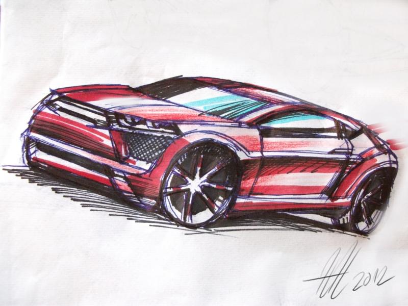 Quick car sketch by koleos33 on DeviantArt