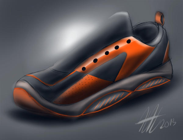 My Shoe Design Sketch by koleos33