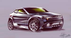 City Range Rover Evoque concept vehicle