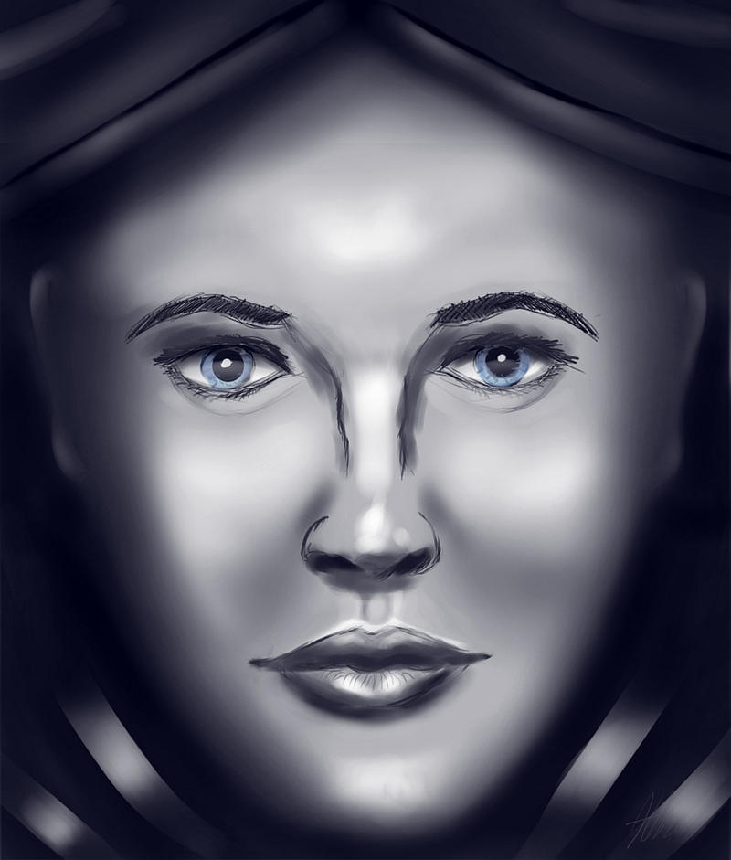 Female face form practice by koleos33