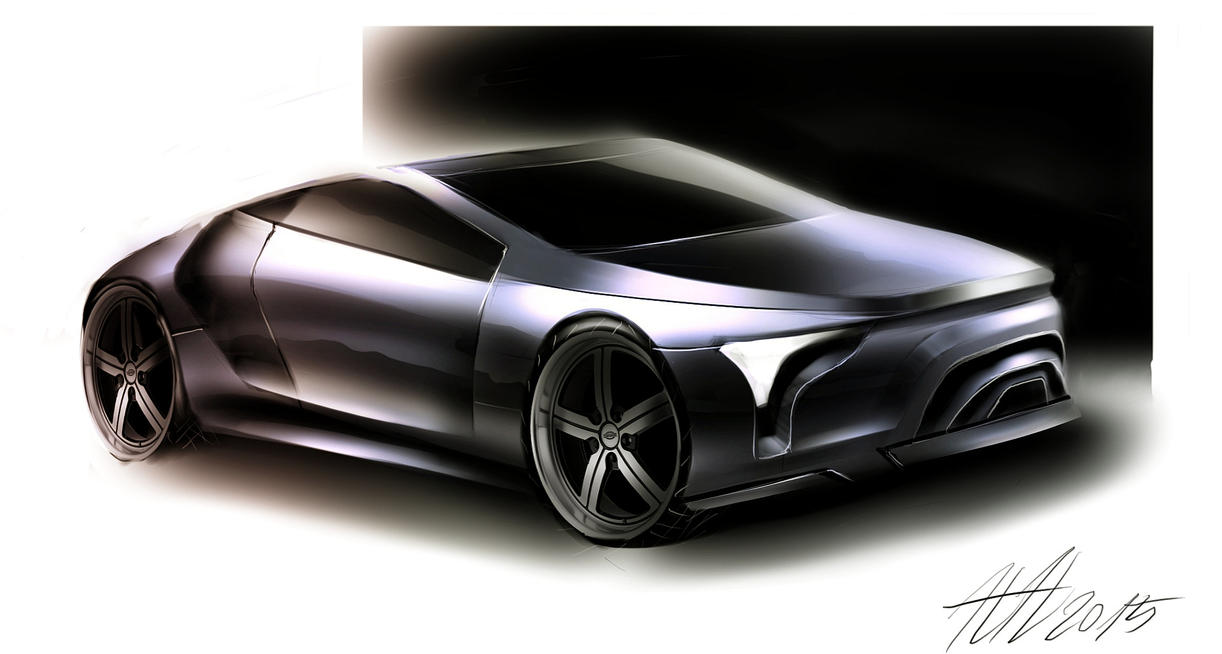 Coupe sketching practice 2015 by koleos33