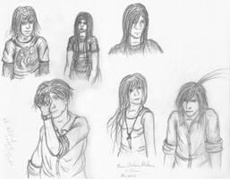 Sketchdump - The People In My Head by Psyfira