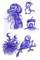 Meeting Doodles by Psyfira