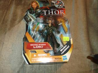 Marvel Thor Secret Strike Loki by godofwarlover