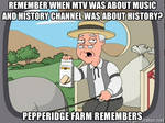 Pepperidge Farms remembers MTV and History Channel