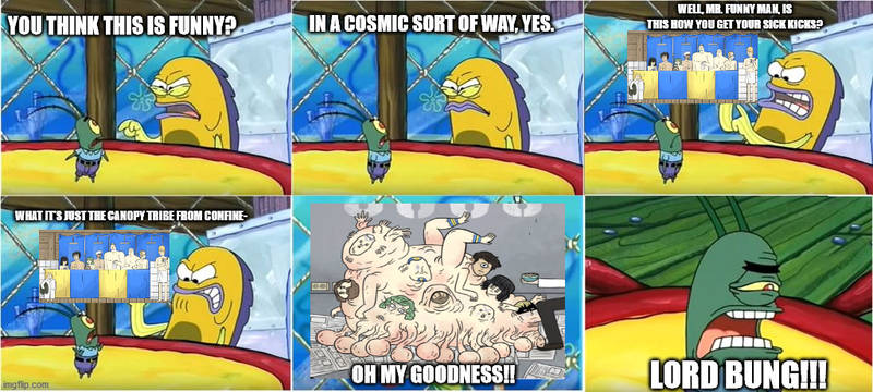 Spongebob Confinement meme