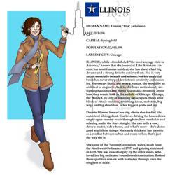 The States- Illinois by boscaresque