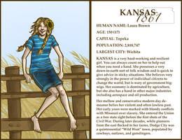 The States- Kansas by boscaresque