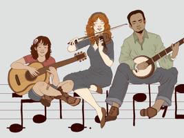 A Little Mountain Music by boscaresque