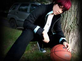 Kagami -Kuroko no Basket- by grimmiko88