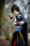 Let's fight Gajeel! /Rogue cosplay/