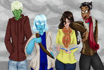 The Warlock Squad by Whitefire17