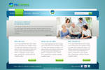 Web site layout for medicine