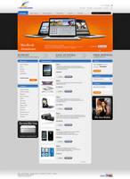 webdesign proposal for a shop by kazedesign