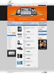 webdesign proposal for a shop