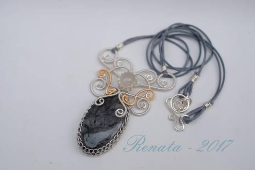 Persephone's Moon Pendant