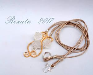 Persephone's Roses Pendant