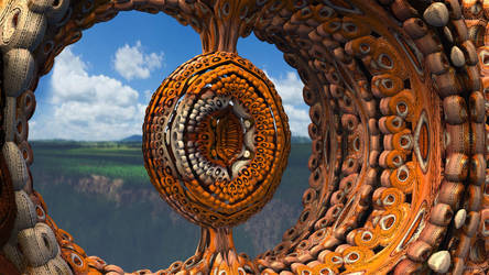 Mandelbulb3D Beat the drum by 1Bryan1