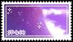 pastel space stamp .