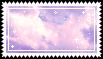 purple cloud stamp .