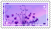 purple plants stamp . by memesking