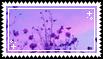 purple plants stamp . by memesking