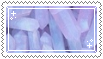 pink // purple crystals stamp .