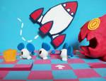 Chu Chu Rocket, Help a rat by AntisocialHam