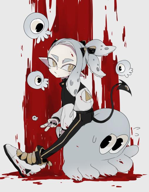 The demon squid kid by shiohh