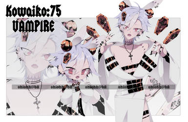 Kowaiko : 75 | Vampire | CLOSED