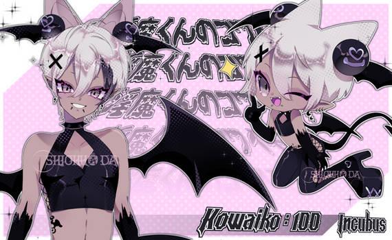 Kowaiko 100 : Incubus | AUCTION CLOSED
