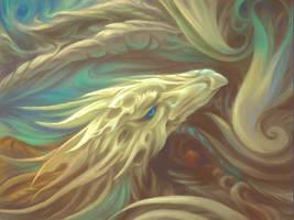 Painting Dragon by Soreiya