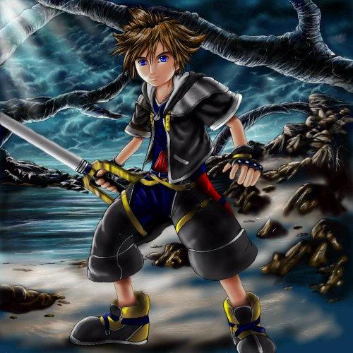 KH2 Sora colored finally by Soreiya