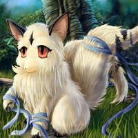 Cute firecat Kirara by Soreiya